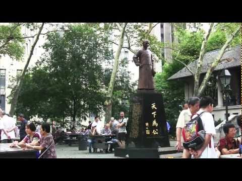 Exploring Chinatown in Manhattan