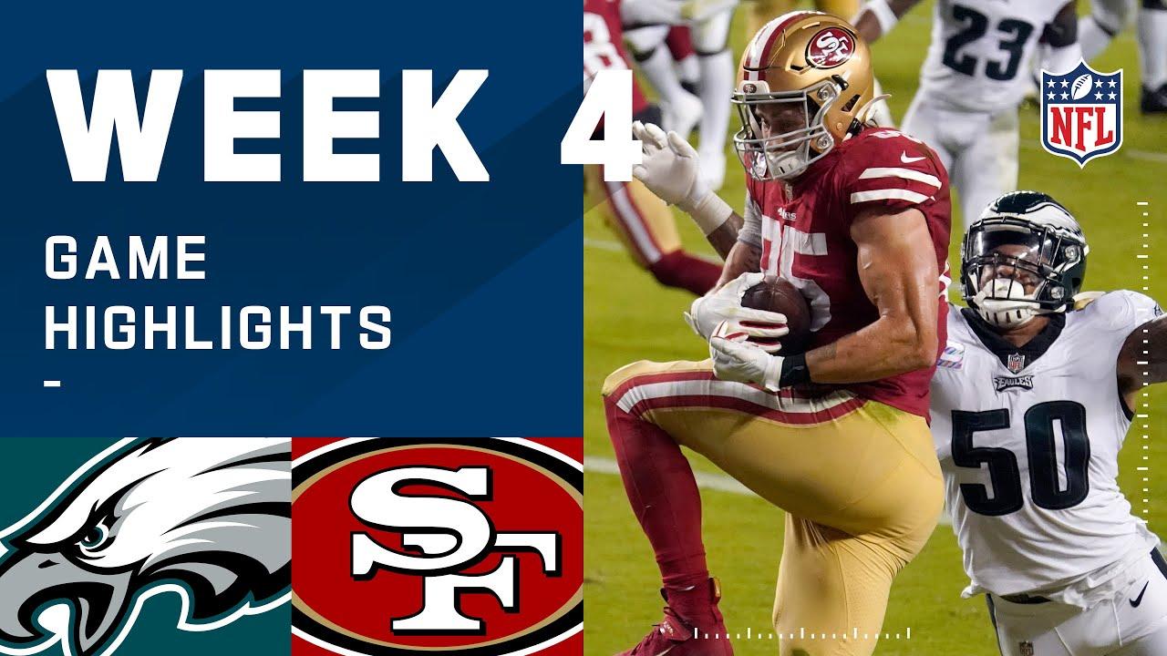 Eagles vs. 49ers Week 4 Highlights   NFL 2020