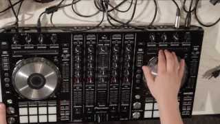 Pioneer DDJ-SX - Connecting and Learning the Board