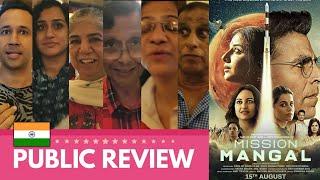 Mission Mangal 🇮🇳 PUBLIC REVIEW | First Show | Akshay Kumar, Vidya, Sonakshi, Dattanna, Nithya