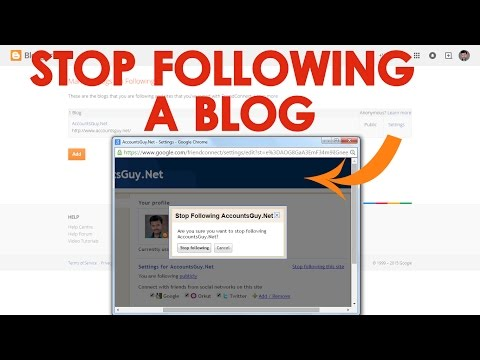How to Remove a Blog or Website from Google Blogger?