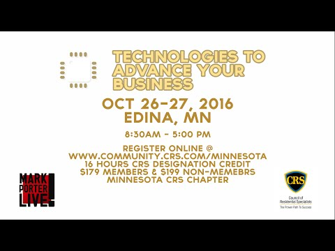 CRS 206 Technologies to Advance Your Business in Edina, MN