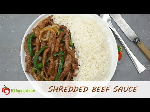 Shredded Beef Sauce | 1QFoodplatter