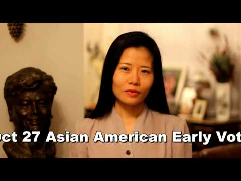 Voice your Vote, Oct 27, 2012 - Asian American Early Voting Day