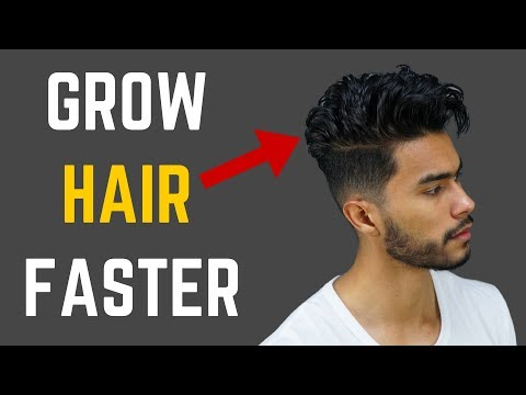 How to Grow Hair Faster, Thicker & Fuller