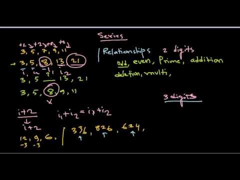 Quantitative aptitude and reasoning : Rules and tips for solving number series problems