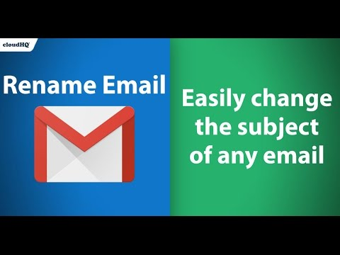 FREE: Change your email subject line with