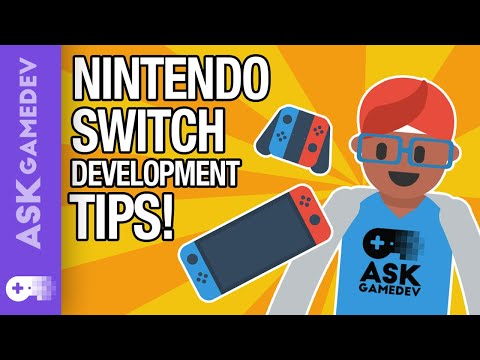 5 Video Game Development Tips for the Nintendo Switch