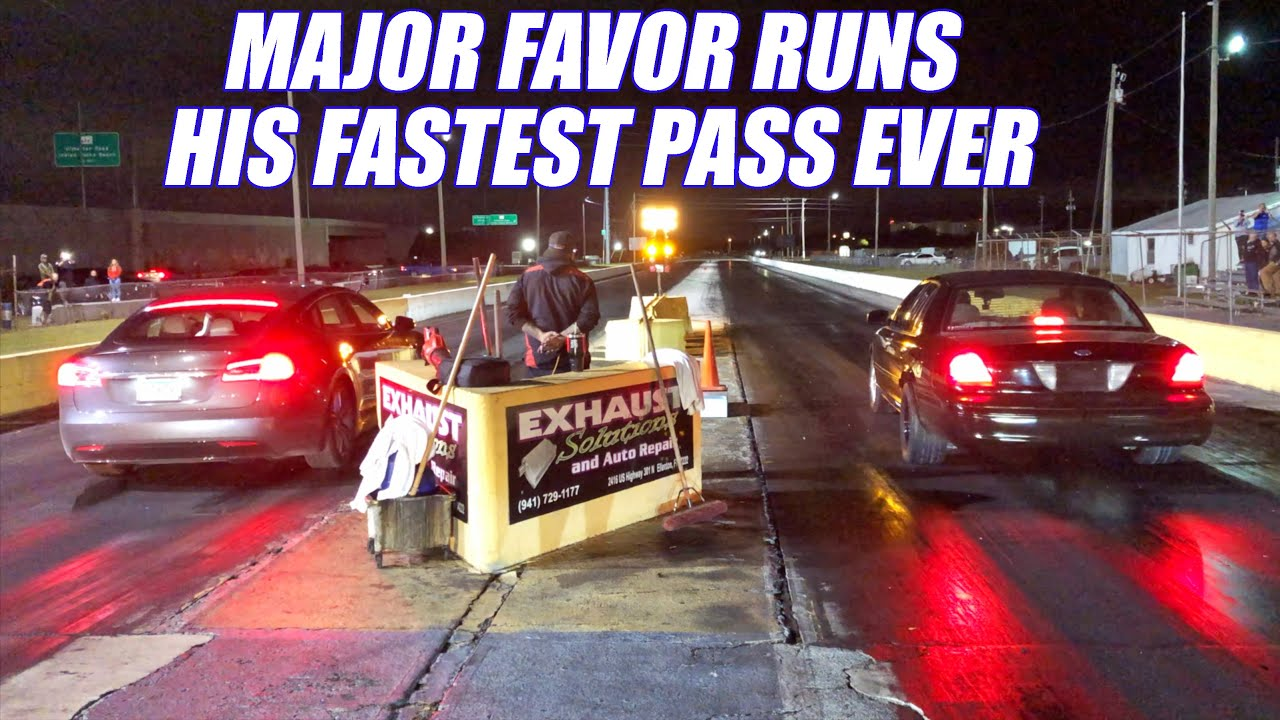 72MM Turbo Crown Vic vs TESLA And So Much More!