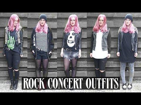 5 ROCK CONCERT OUTFITS | Rocknroller