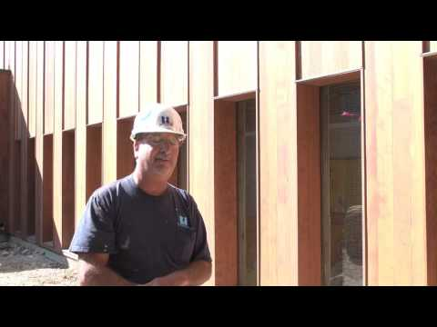 Building Our New Home—Exterior Wood Walls