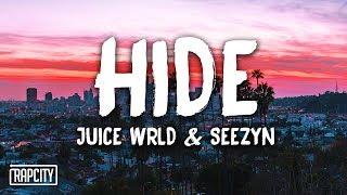 Download Juice WRLD, Seezyn - Hide (Lyrics) (Spider-Man: Into the Spider-Verse) Video