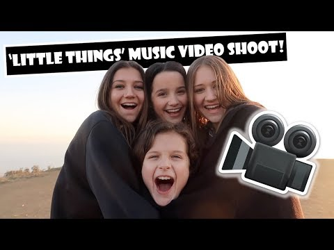 Little Things Music Video Shoot 🎥 (WK 374)   Bratayley