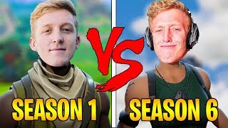 Tfue SEASON 1 VS SEASON 6 | Evolution Of Tfue