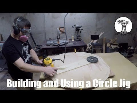 Making a Router Circle Jig With Material You Already Have