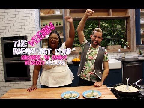 THE Vegan BREAKFAST CLUB: Sausage Gravy 'n Biscuit Recipe!