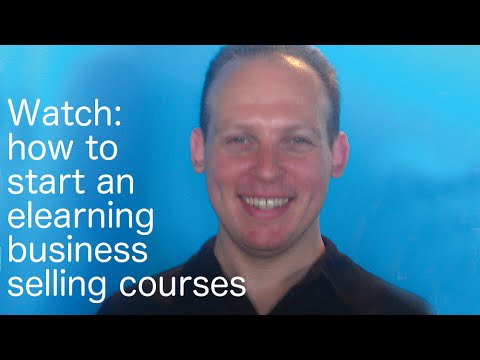 How to start an elearning business selling online courses on Udemy or a membership site
