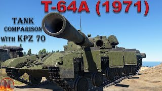 Wt    T-64a Vs Kpz - Stat Comparison And First Impressions