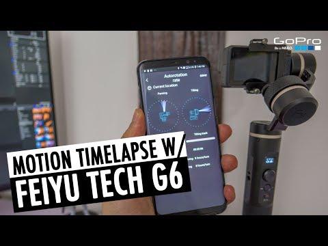 Motion Timelapse Tutorial | Autorotation FeiyuTech G6 Gimbal | RehaAlev