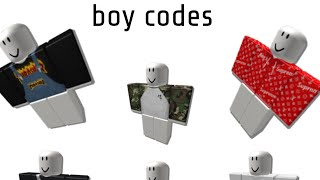 Roblox Shirts Codes 2018 Roblox Boy Outfit Codes In Desc