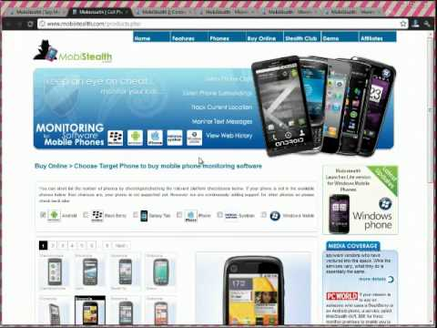 Cell Phone Tracking App Review Video for: Android - iPhone- Blackberry