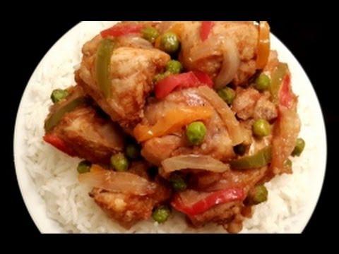 Chicken Jalfrezi With Boiled Rice in Urdu/Hindi by Azra Salim
