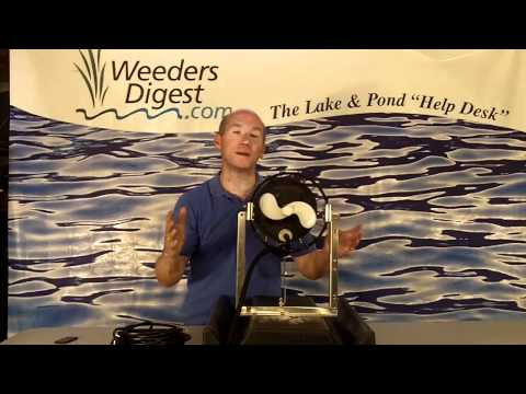 WATER CIRCULATOR for lakes and ponds