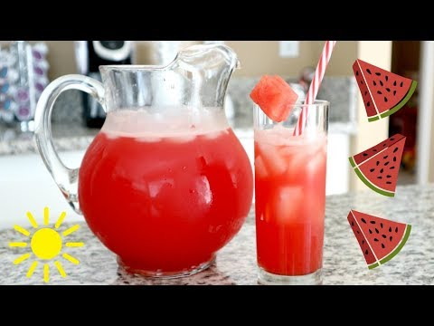 Delicious Watermelon cooler!