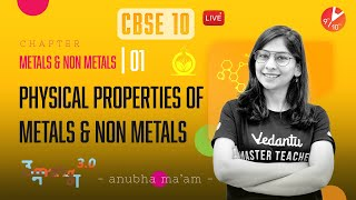 Metals and Non Metals L-1 (Physical Properties of Metals and Non Metals) CBSE 10 Chemistry   Vedantu