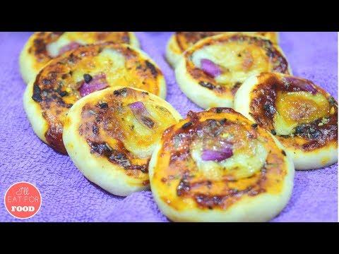 Pizza Bites - Mini Pizza │Episode 082 │ I'll Eat For Food