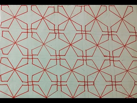 Sashiko Embroidery // Quilt Design Tutorial-10- For Very Beginners