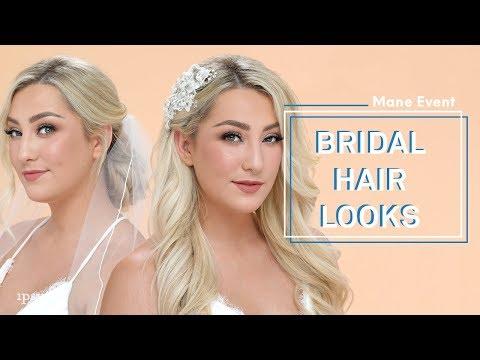 Beautiful Bridal Hairstyles & Wedding Hair Tutorial   ipsy Mane Event