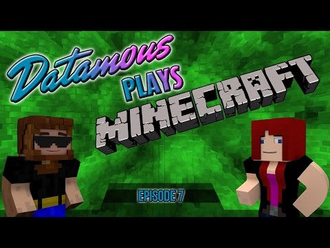 Datamous Plays – Minecraft 1.9 Ep 7- Do me, Now let me do you!