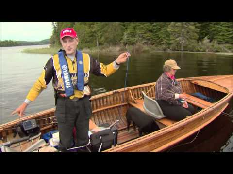 Jigging for trophy Walleye, Marmac Lodge, Esnagi Lake, ON. Part 2 of 4
