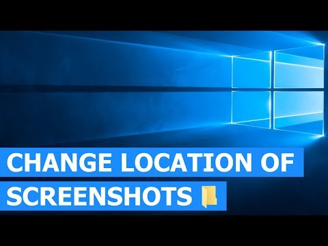 How to Change the Location of the Default Screenshots Folder in Windows 10