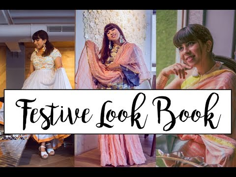 A Pastel Festive Look Book | With Love Inaaya