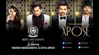 Bollywood Star Himesh Reshamiya & Ms. Zoya Afroz visit SGT University,Gurgaon