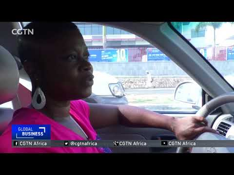 Ghanaian female taxi driver finds her spot in a male-dominated industry