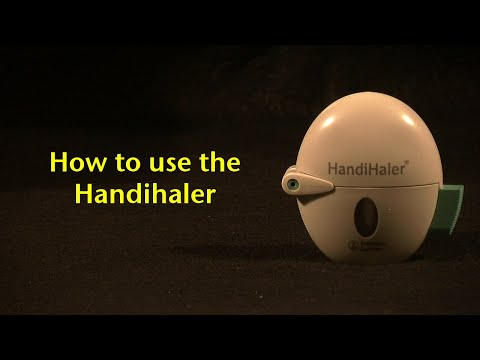 How to use the HandiHaler