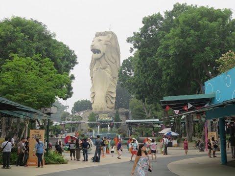 A tour of Sentosa island, Singapore