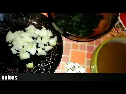 How to make tasty egusi soup with spinach and  bitter leaf