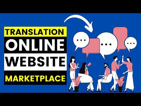 Translation Online Business Website Marketplace