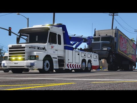 Los Santos Goes to Work - Day 15 - Heavy Duty Towing
