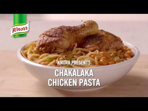 #MzansiPasta: Chakalaka Chicken Pasta