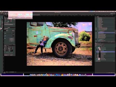 MCP Inspire Photoshop Actions: Deep Color Pop