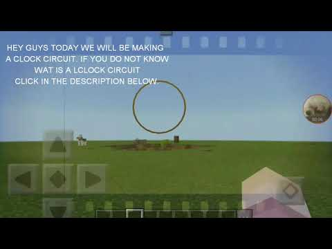 How to make a clock circuit in minecraft