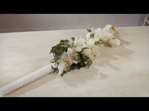 How to make a Simple Singapore Orchid Bouquet