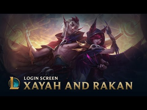 Xayah & Rakan, the Rebel & the Charmer | Login Screen - League of Legends
