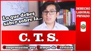 COMPENSACIÓN POR TIEMPO DE SERVICIOS | Derecho Laboral Privado (PERÚ)