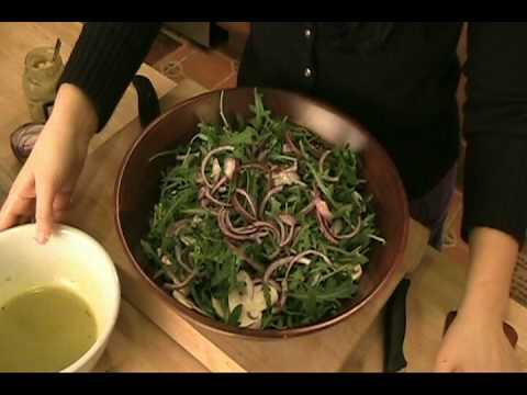 How to make Arugula Salad w/ Lemon Vinaigrette - Laura Vitale